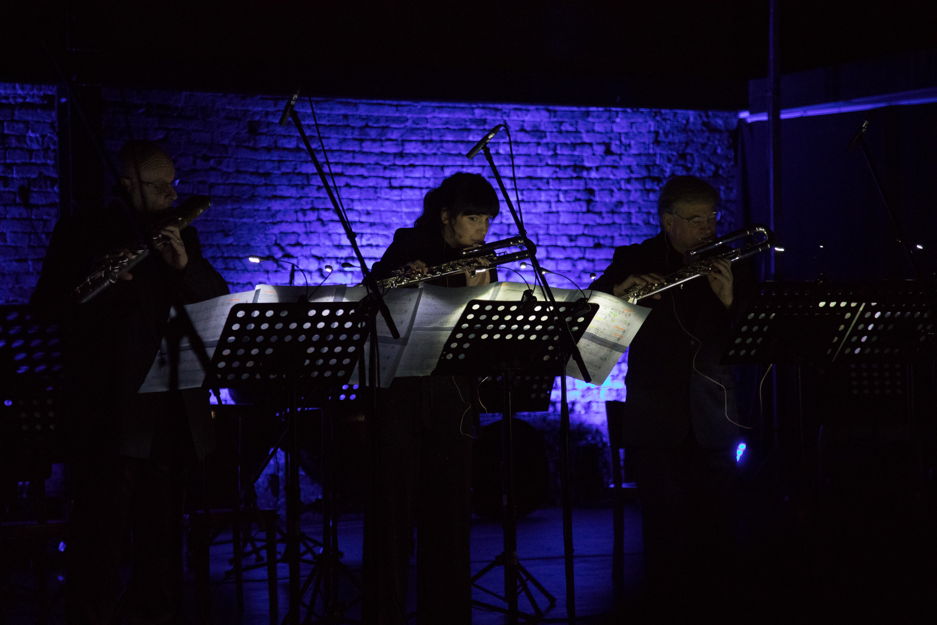 Dani Bošnjak, Ana Batinica, Roberto Fabbriciani / Nicola Sani, The Night After the Clouds